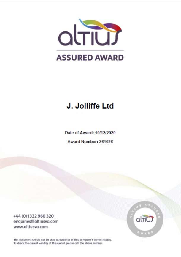 altius-certificate